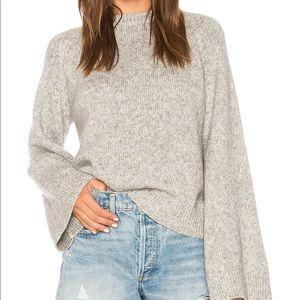 AG Adriano Goldschmied NWT grey Noelle sweater 🍁